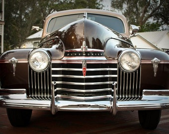 Oldsmobile Hydromatic Car Photography, Automotive, Auto Dealer, Muscle, Sports Car, Mechanic, Boys Room, Garage, Dealership Art