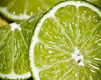 Lime Citrus Fruit Fine Art Print