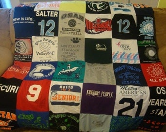 T Shirt Memory Blanket Unlimited Shirts (& things) and Size (payments accpeted)