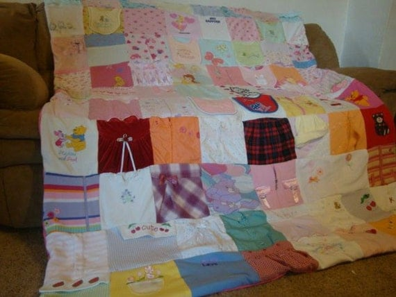 Child's Memory Blanket (unlimited items & size)