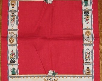 Vintage Household Items Kitchen Towel