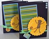 PIF - Monkey Business Handmade Card Set