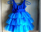 Custom Tulle Flowergirl or Special Occassion Dress - you choose colors - Flowergirl, Birthday, Party Dress, Custom colors