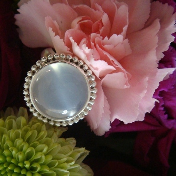 Gypsy Cloud, Sterling Handforged Setting, OOAK, Ready to Ship