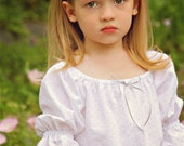 Girls Pink Swiss Dot Nightgown sizes 2-8