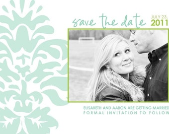 New Love - Custom Photo Save the Date