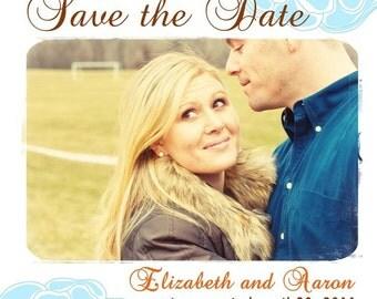 Fresh Love - Custom Photo Save the Date