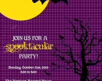 Spooktacular - Custom Halloween Invitation