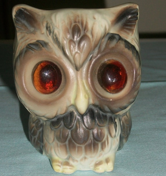 Hootie Candle Holder