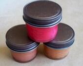 Bakery Scent Sampler- SOY BLEND- 3-4oz candle jars