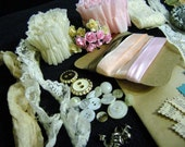 Vintage\/ Shabby Chic Style Paper Crafting Kit SHIPPING INCLUDED
