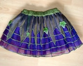 Size M - Green & Purple - Pixie Tutu