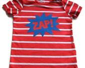ZAP Superhero Lap Tee Baby Boy Shirt 18 Month 24 Month