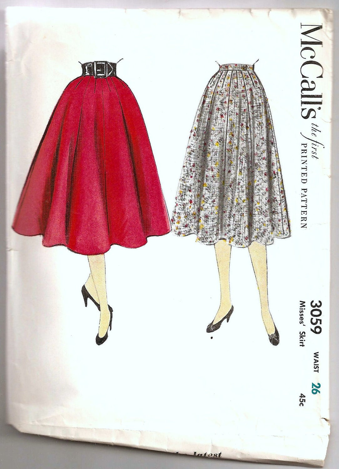 Awesome Womens Tiered Skirt Sewing Pattern  Easy Summer Skirt Pattern