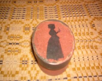 Silhouette Colonial Girl Box