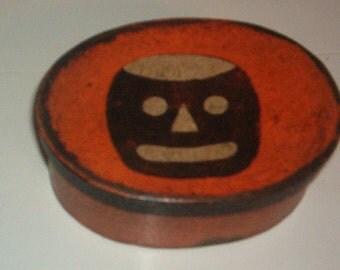 Paper mache Vintage Halloween Box