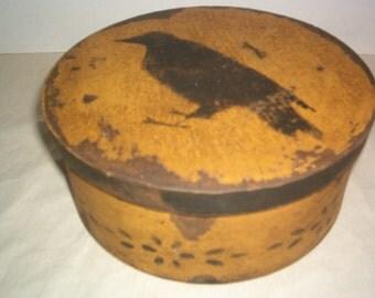 Mustard Crow Box
