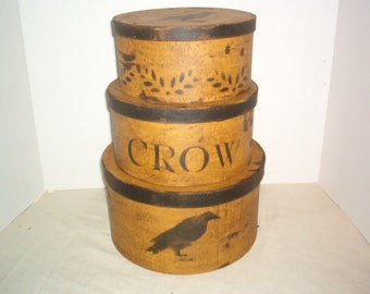 Crow Pantry Boxes