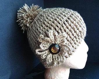 HAT Crochet Pattern - KNIT LOOK Hat - reversible - newborn to adult sizes,  #300 -  Free Crochet Pattern, see description below