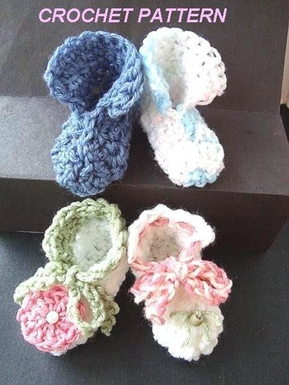 Items Similar To Crochet Pattern No 124 Easy Beginner