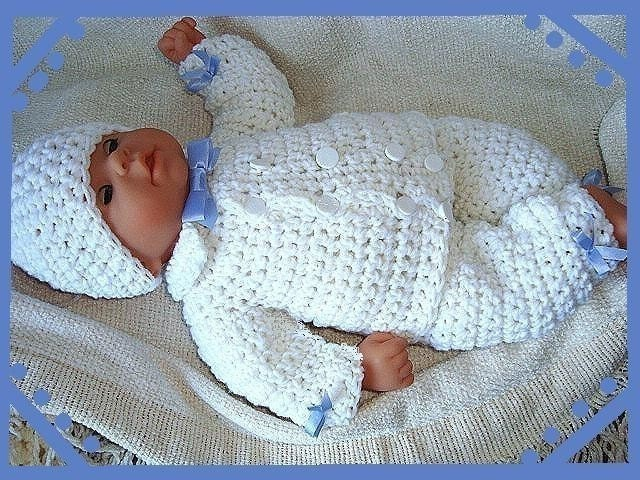 Crochet Patterns For Baby Boy Clothes Crochet Pattern Boy Baby Num