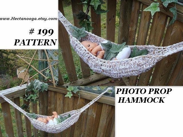 this is a digital file crochet pattern baby hammock sling number 199 photo prop      rh   etsystudio