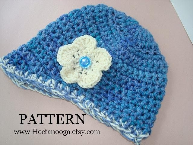 CROCHET PATTERN number 118 SIZE YOUNG TEEN TO ADULT. VISOR