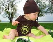 organic baby OM onesie