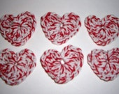 50 % Off Spring Sale Crocheted Heart Embellishments