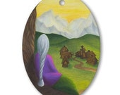 """Ornament """"A Quiet Place"""" by Kelly Sundstrom"""