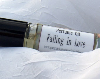 Falling In Love - Perfume Oil - 10mL Glass Roll-On Bottle