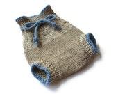 Wool Soaker Diaper Cover Small