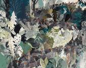 Guineafowl Migration - Original painting