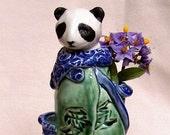 Little Mom Panda Zoomorphic Vessel - Free Shipping Etsy