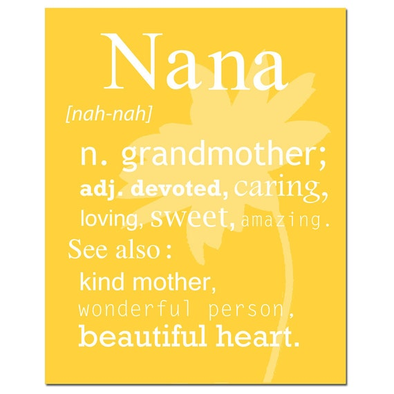 Customizable name and meaning description print 8x10 like this item negle Choice Image