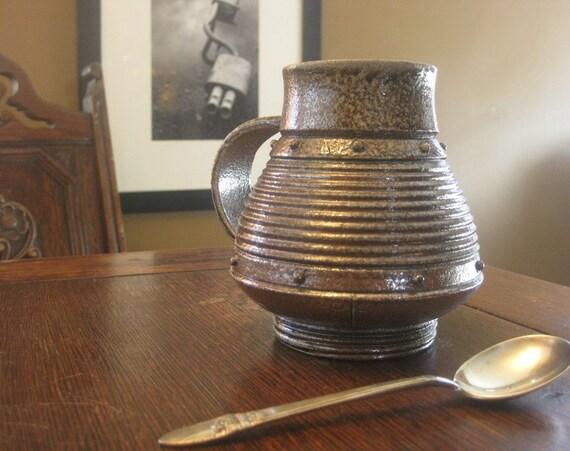 Studded Iron Jasper Mug