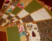 6 Reversible Patchwork Placemats