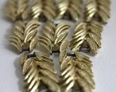Vintage Leaf Design bracelet/ necklace 'bead'