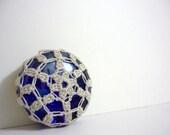 Sun II - Crochet Lace Glass Marble