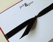 ampersand personalized notecards