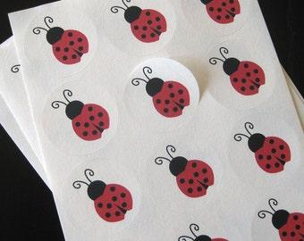 little lady sticker seals