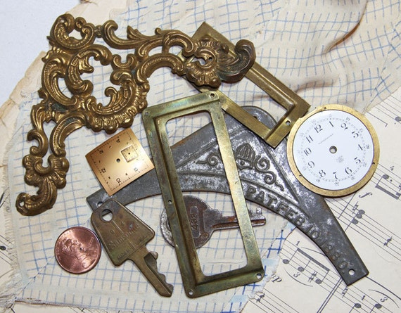 Found Object Stash for Mixed Media and Altered Art