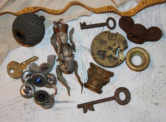 Destash Metal ASSEMBLAGE Supply Lot