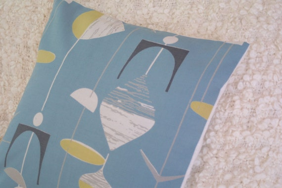 Marian Mahler 'Mobiles' cushion cover vintage