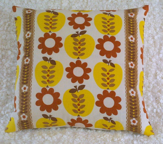 Vintage 60s cushion cover Pippin