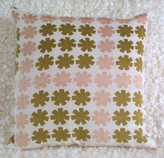 Vintage 50s 60s cushion cover