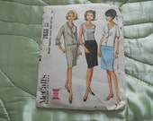 Vintage1965 McCall's (Mad Men)Separates SewingPattern 7833