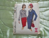 Vintage1964 (Mad Men) McCall's (Pan Am) Sewing Pattern 7505
