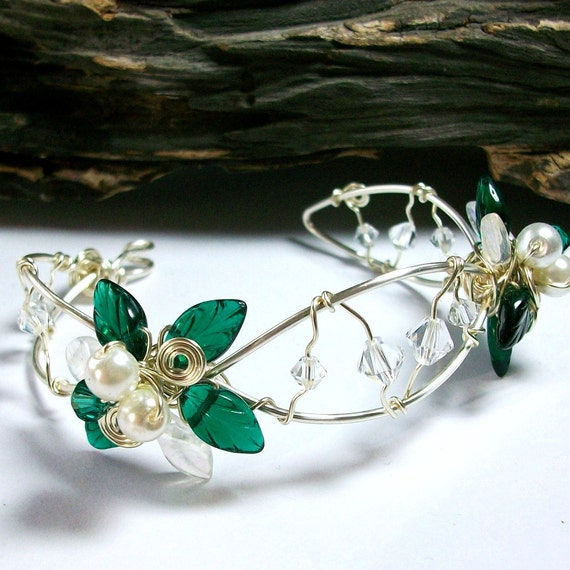 Emerald Fairy Rainbows Bracelet