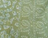 Hand block print bedspread table cover multi-use textile 64x92 Single